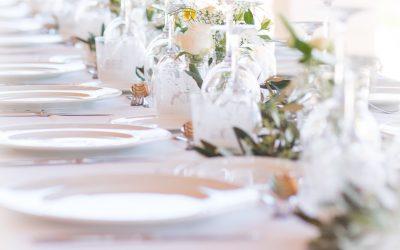Hochzeitsdekoration in Weißenfels